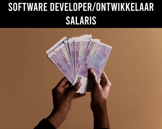 Software developer/ontwikkelaar salaris