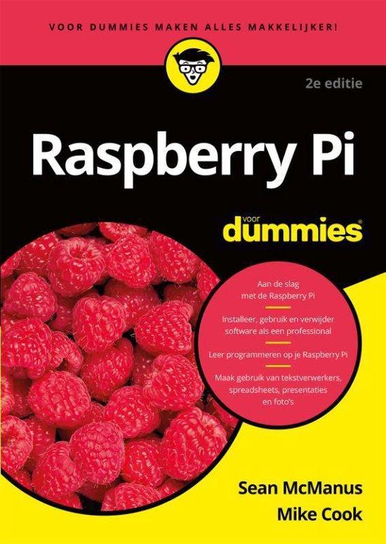 Raspberry Pi voor dummies (Sean McManus & Mike Cook) boek