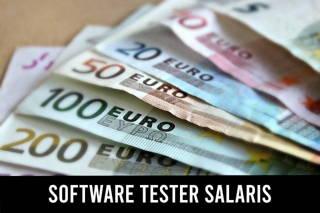 Software tester salaris