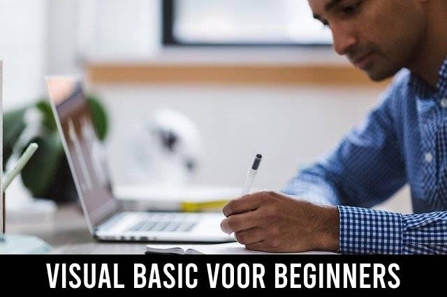 Visual Basic voor beginners