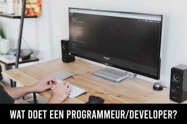 Wat doet een programmeur/developer?