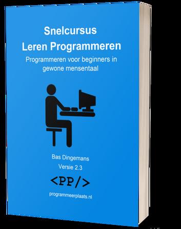 Snelcursus Leren Programmeren cover 2.3 3D download image